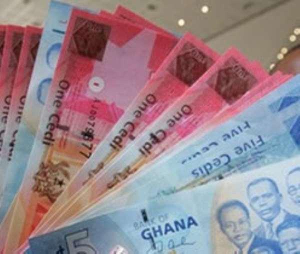 GH. cedi depreciates to major currencies